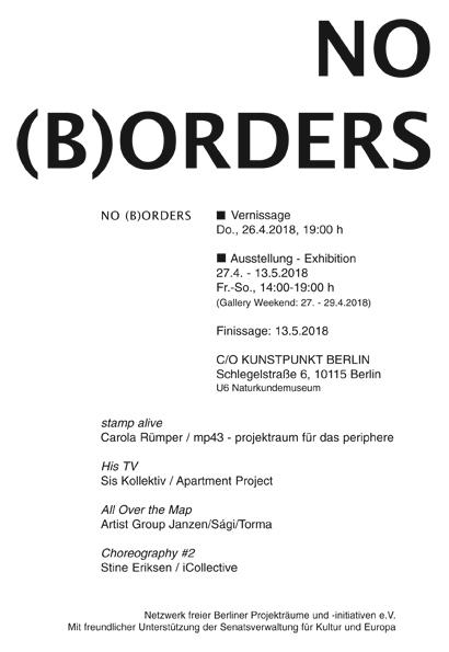 NO (B)ORDERS